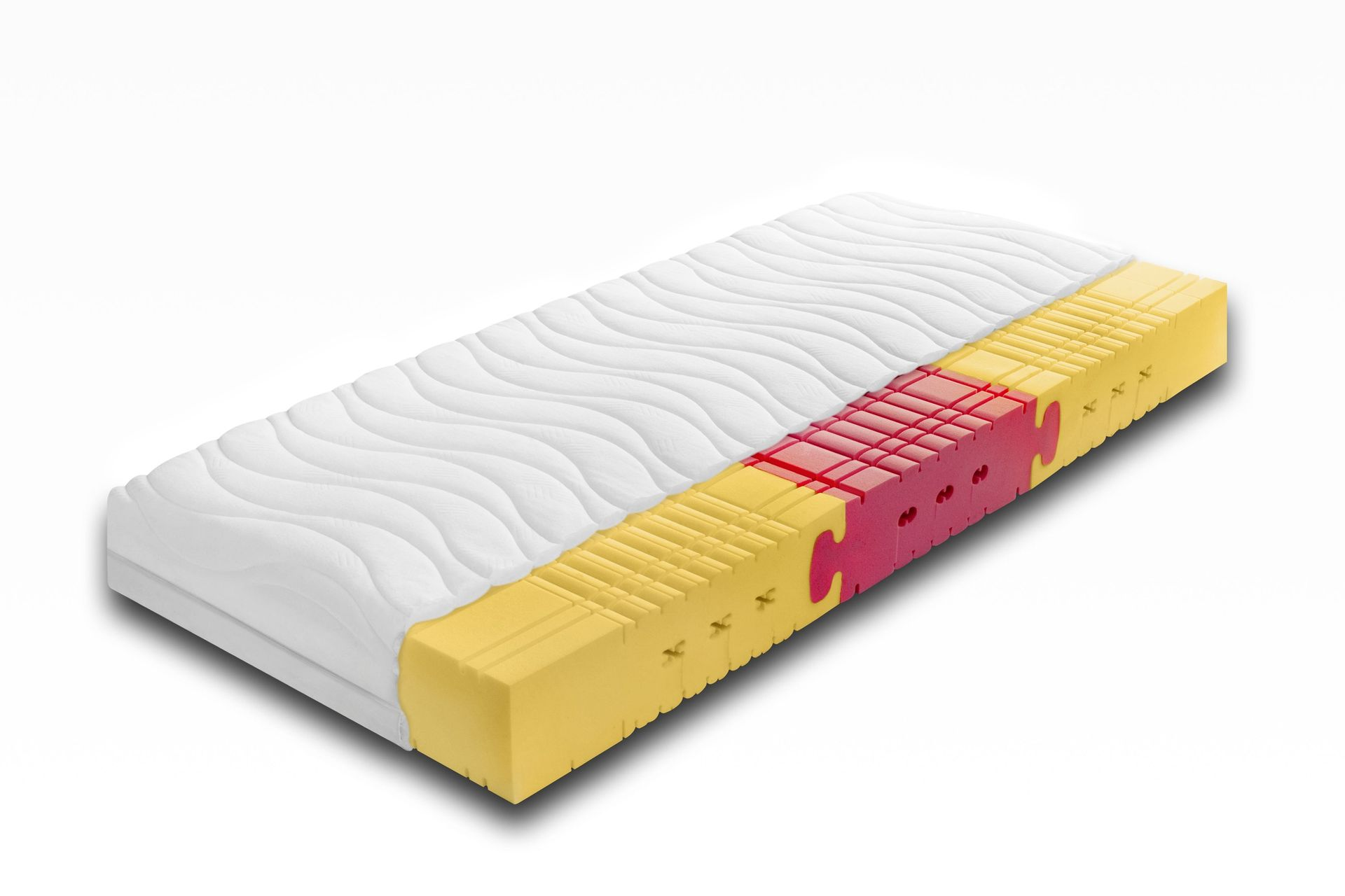 7 zonen ortho kaltschaummatratze eccoline. Black Bedroom Furniture Sets. Home Design Ideas