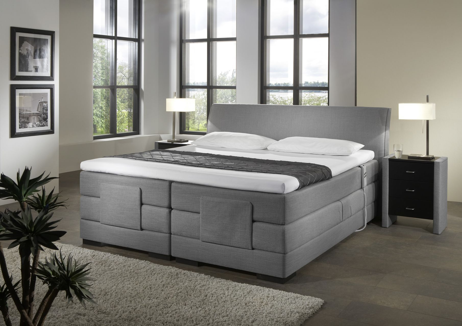 boxspringbett elektrisch verstellbar avignon. Black Bedroom Furniture Sets. Home Design Ideas