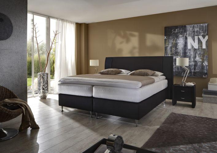 Boxspringbett GRAN SENOIR hoher Komfort in verschiedenen Härtegraden günstig online kaufen