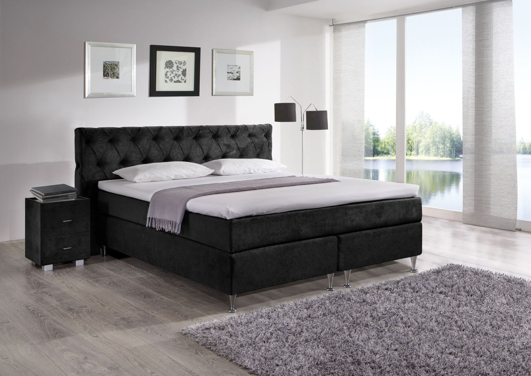 boxspringbett ohne matratze boxspringbett ohne matratze. Black Bedroom Furniture Sets. Home Design Ideas