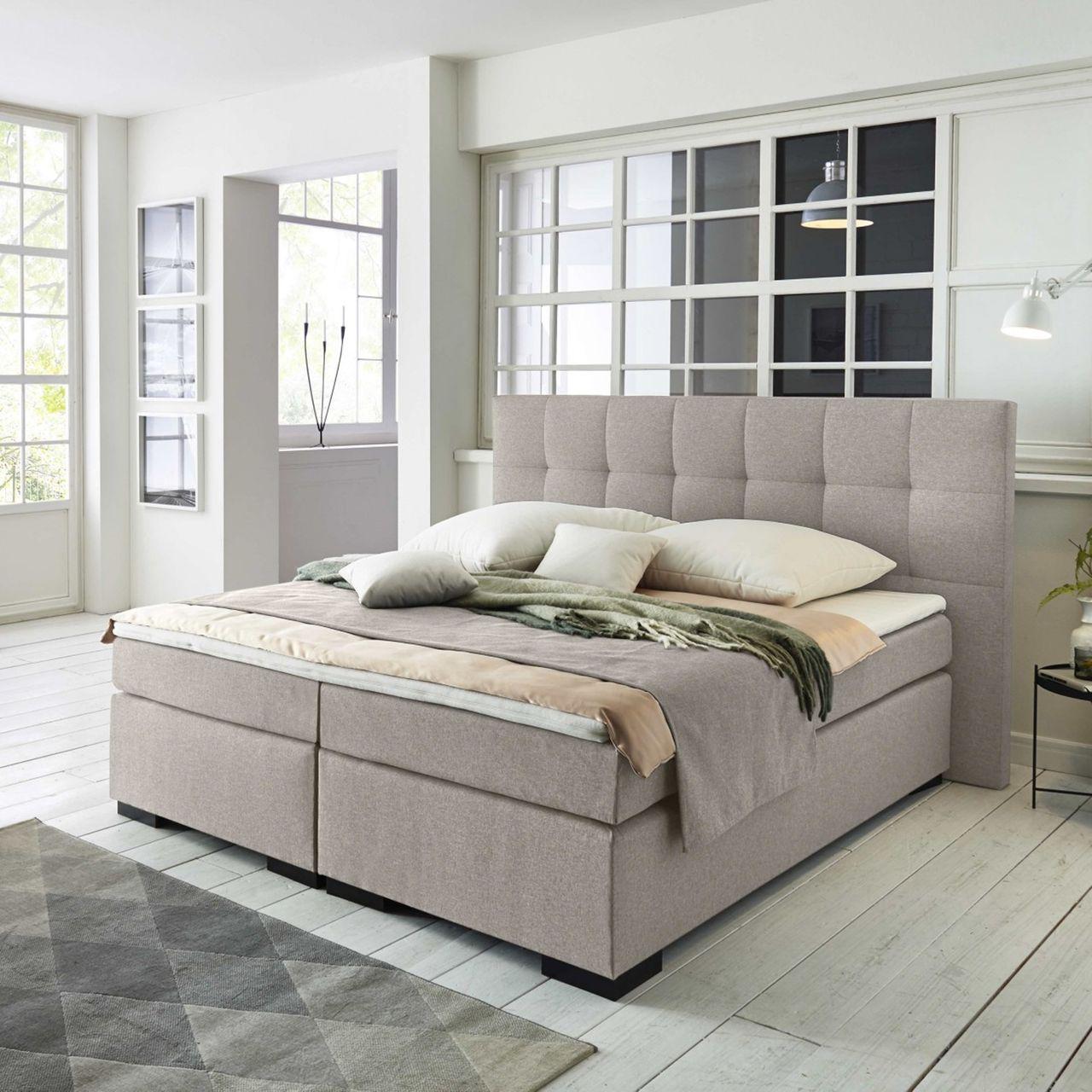 boxspringbett monaco mit komfort matratze belvandeo